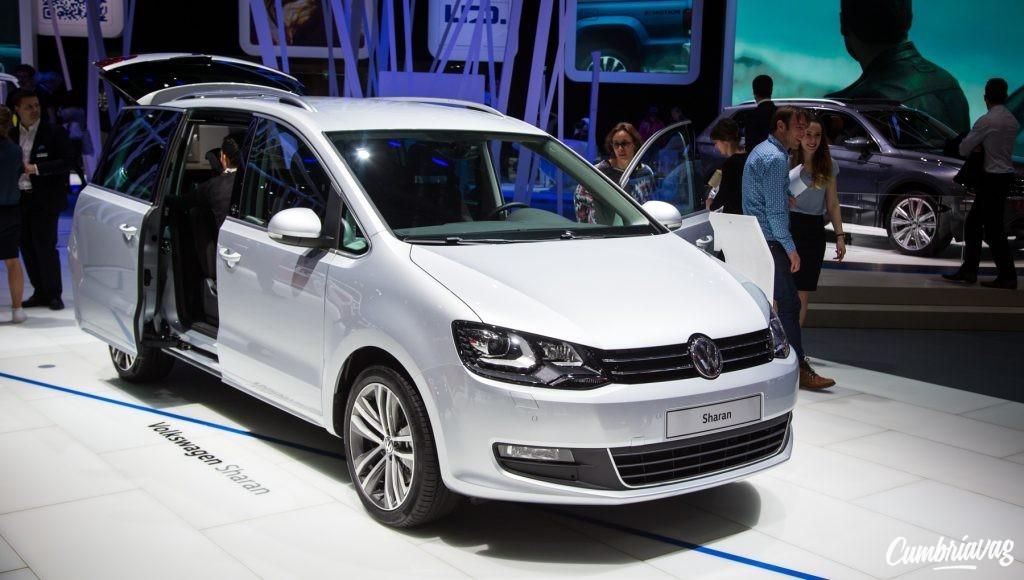 VW Sharan Geneva Motor Show