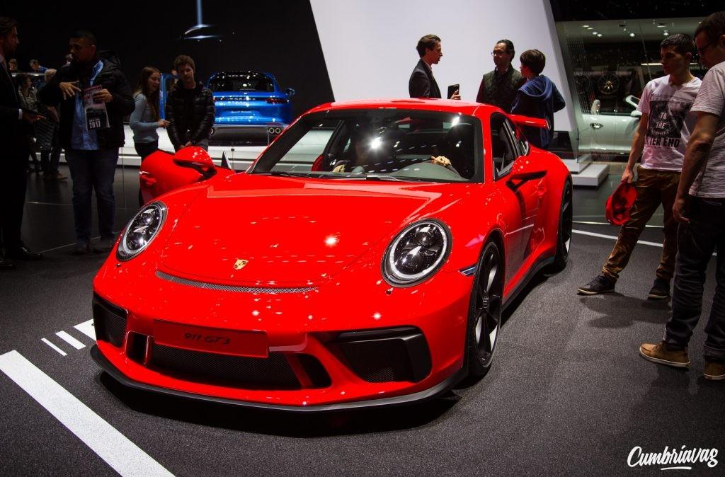 Porsche 911 GT3 at Geneva Motor Show