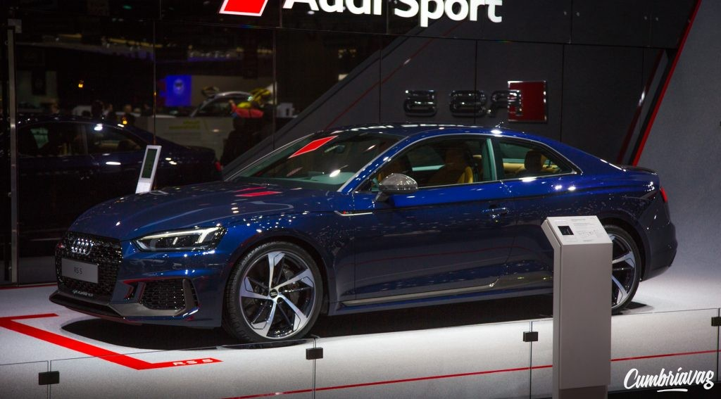 Audi RS5 at Geneva Motor Show